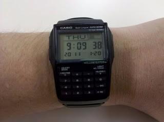 41f4ab3f6d3 Relógio Casio Data Bank Calculadora Dbc-32-1adf-(gar E Nf) - R  298 ...