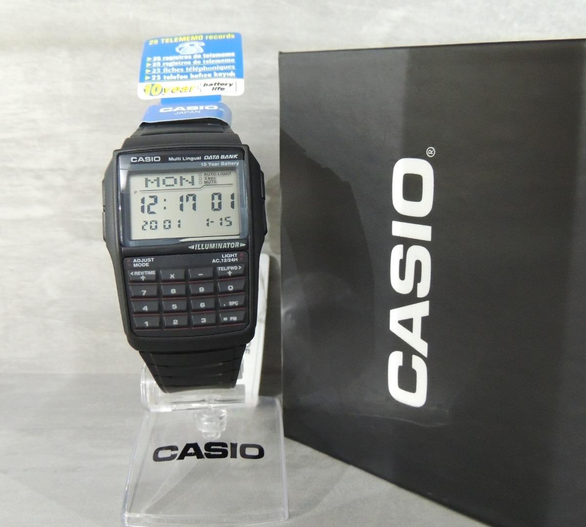 53dacf322eb Relógio Casio Data Bank Calculadora Dbc-32-1adf-(gar E Nf) - R  298 ...