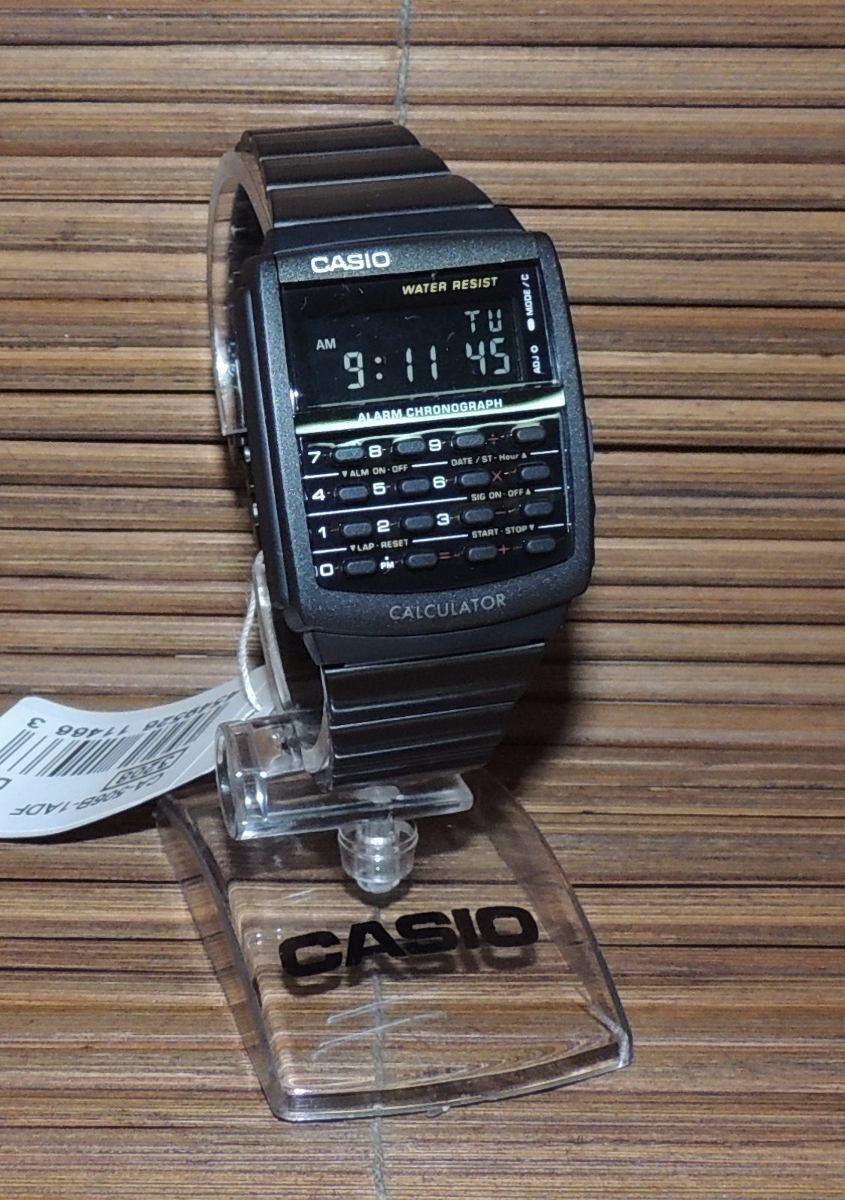 c6d95ee1256 relógio casio data bank - modelo ca-506b-1adf (nf garantia). Carregando  zoom.
