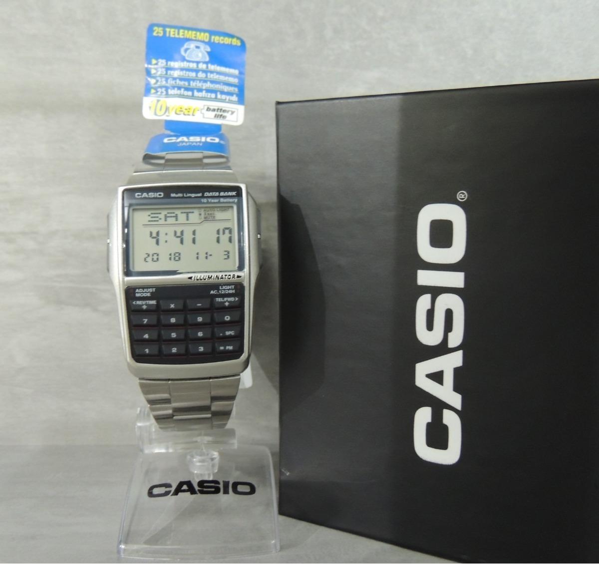 fbe80fcd1ed Relógio Casio Data Bank - Modelo Dbc-32d-1adf (nf garantia) - R  259 ...