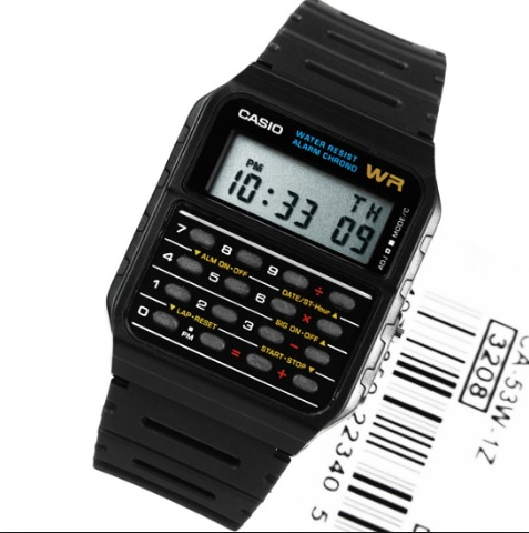 6142e1d35f0 Relogio Casio Databank Ca-53w-1 Ca53 Vintage Em S.p Db-36 - R  199 ...