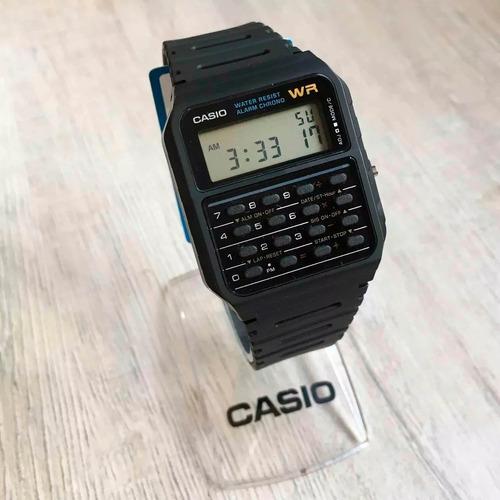 relogio casio databank ca53w calculadora original caixa nf