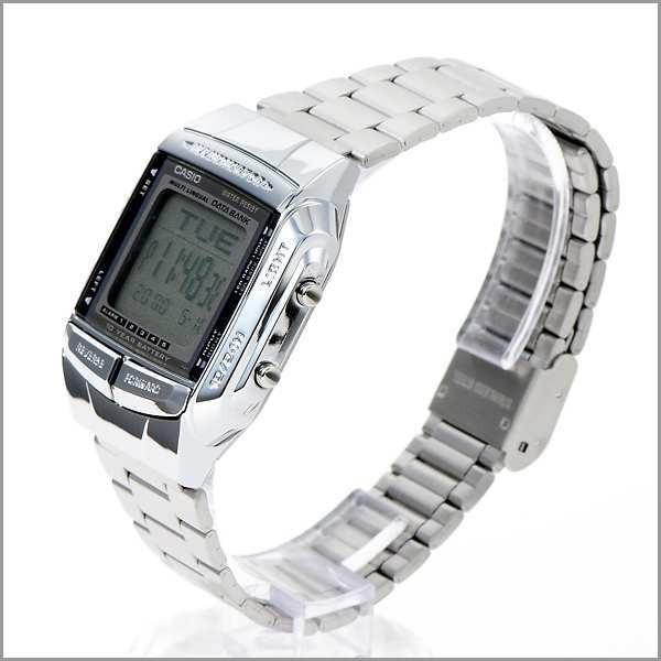 807a0d874b2 Relógio Casio Db-360-1a Databank Tel 5 Alarmes Wr Prata N.f. - R ...