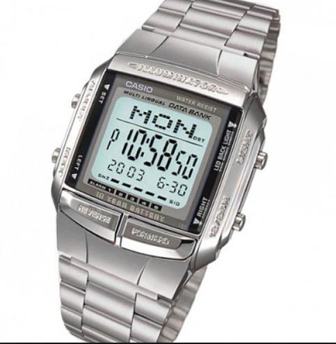 8cc22dbfc65 Relógio Casio Db-360 Databank Db360 Db-360g 100% Original Sp - R  179