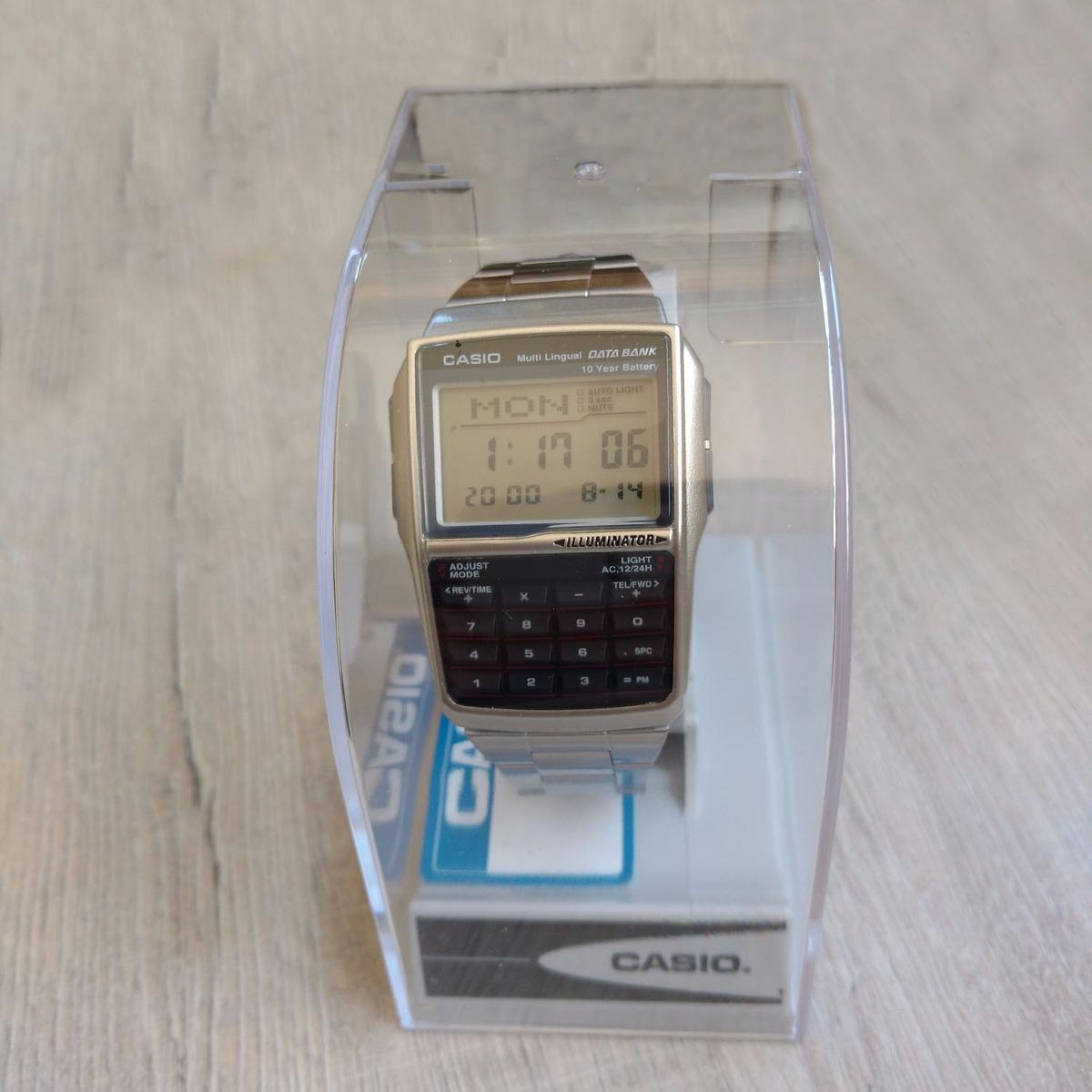 16f72917c9c Relógio Casio Dbc32 Databank Calculadora - Caixa Original - R  199 .