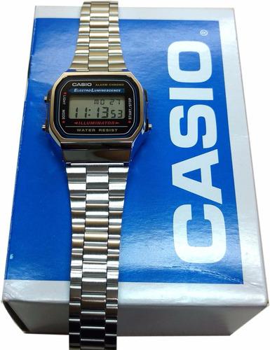 relógio casio digital a168wa 100% original caixa nf