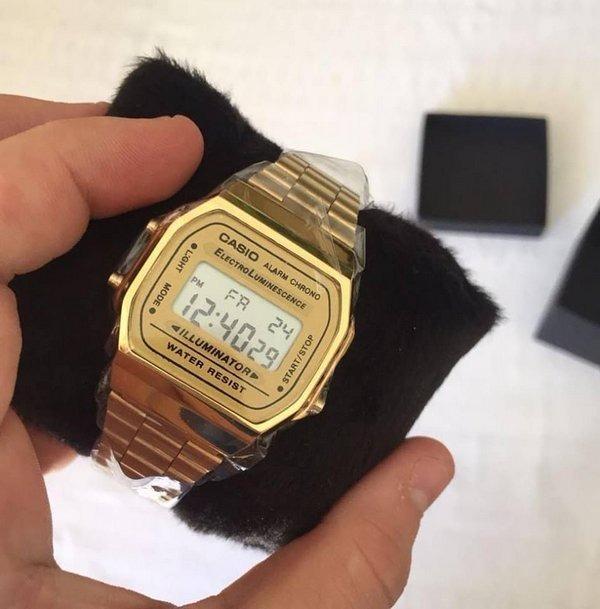 db5f004dd19 Relógio Casio Digital Esportivo A158wa-1df Frete Gratis - R  129