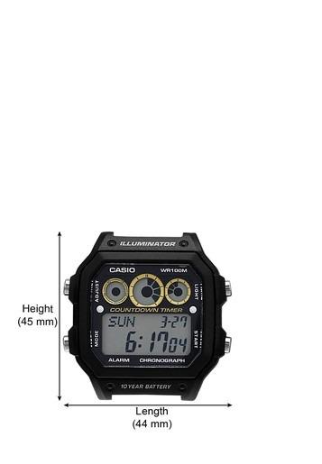 061089893a9 Relógio Casio Digital Esportivo Ae-1300wh-1avdf - R  130