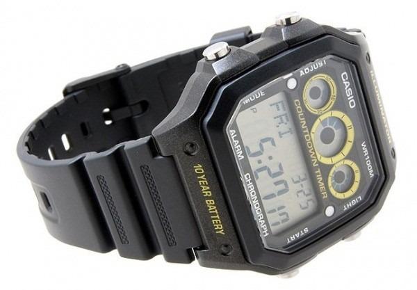 92a373824bf Relógio Casio Digital Esportivo Ae-1300wh-1avdf - R  130
