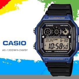 601d82a65c4 Relógio Casio Digital Esportivo Ae-1300wh-2avdf - R  130