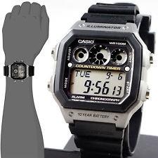 64137b04c74 Relógio Casio Digital Esportivo Ae-1300wh-8av - R  140