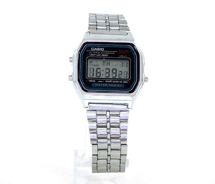 5a621f325d2 Relógio Casio Digital Feminino Antigo Prata Dourado Masculin - R  45 ...