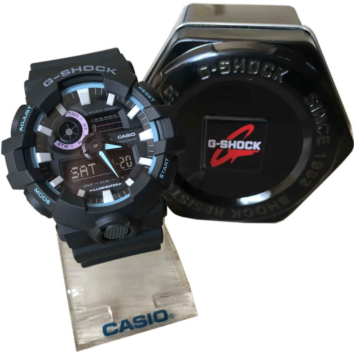 1df13eeaa4c relógio casio digital g-shock ga700pc original. Carregando zoom.