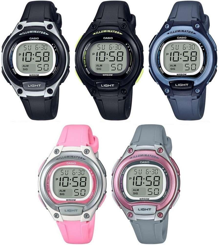 6e5fc89536b relógio casio digital lw-203-2avdf azul. Carregando zoom.