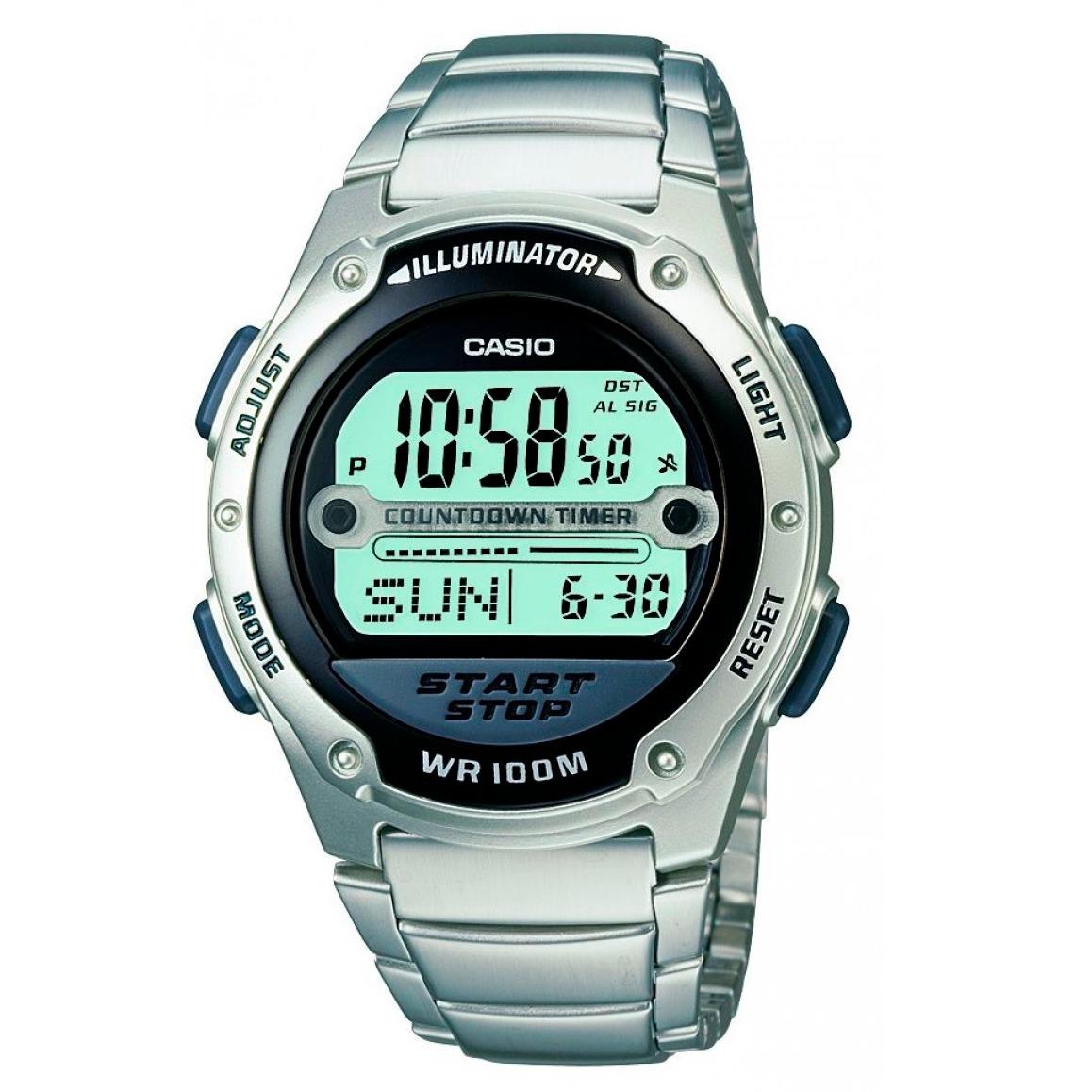dad022f6d1a relógio casio digital masculino w756d temporizador original. Carregando zoom .