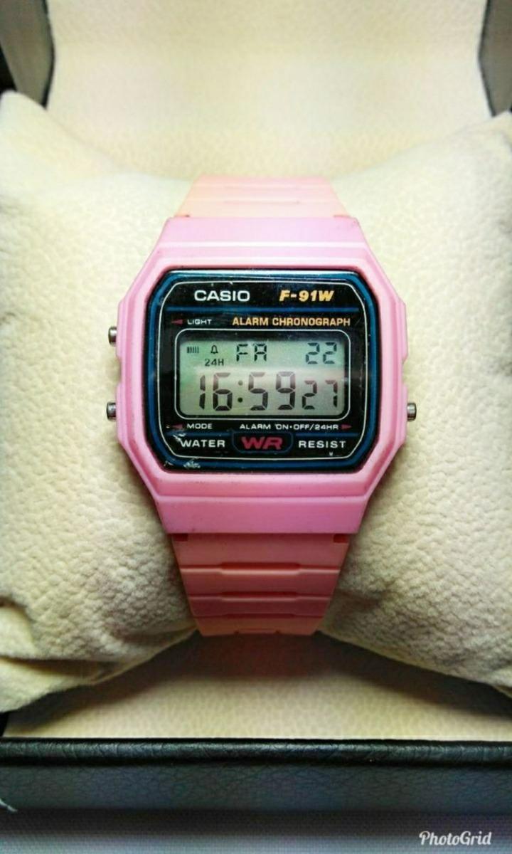 71a84a95776 relógio casio digital rosa feminino. Carregando zoom.