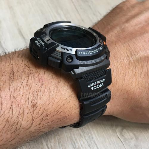 relogio casio digital sgw300 barometro altimetro original nf
