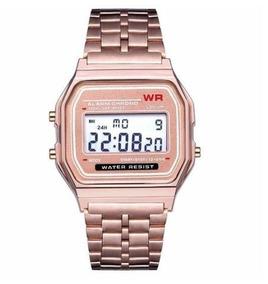 6852f7da532c Relógio Casio Rosa - Relógio Casio no Mercado Livre Brasil