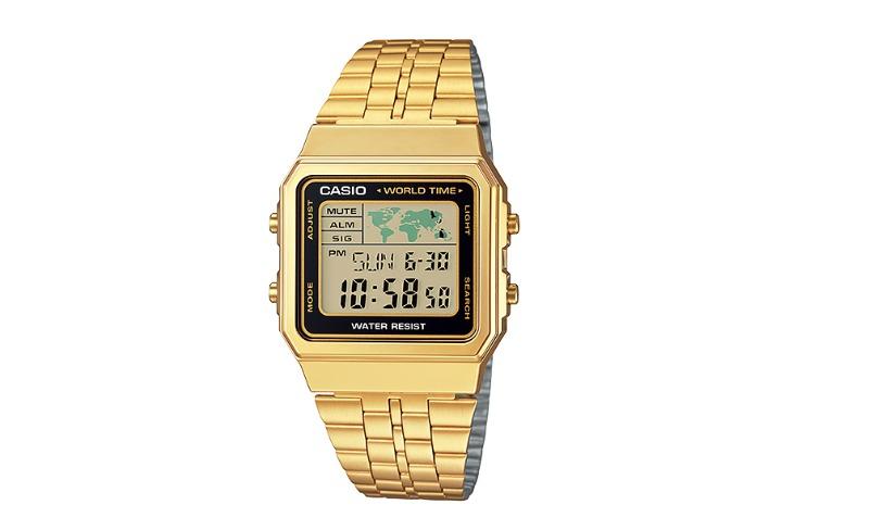 94bb2b941c7 Relógio Casio Dourado Vintage A500wga-1 Retro Original Aq230 - R  269