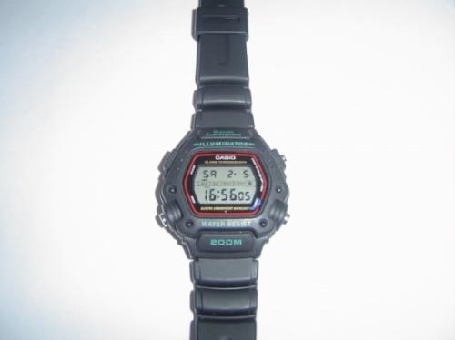 relógio casio dw-290 novo original importado raro rj