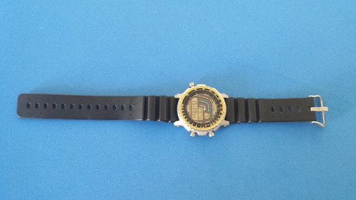 relógio casio dw-4100 surfing timer igual novo japan raro