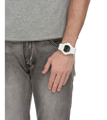 relógio casio dw6900 g- shock digital dw-6900nb-7dr + nfe
