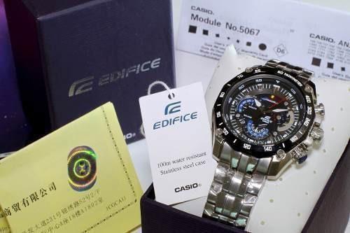 ee80b79275e Relógio Casio Edifice 550 Redbull Masculino Lindo Top - R  278