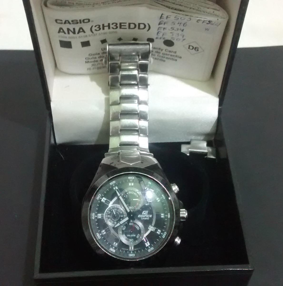 1ffb1c10348 Relógio Casio Edifice Black - R  240
