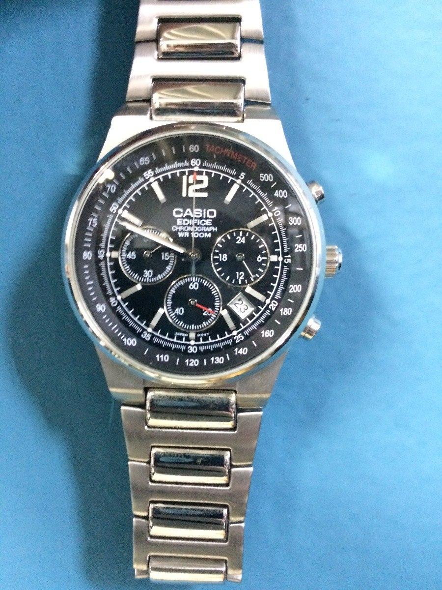 e63b6d4dfdb relógio casio edifice chronograph wr 100m - ef-500. Carregando zoom.
