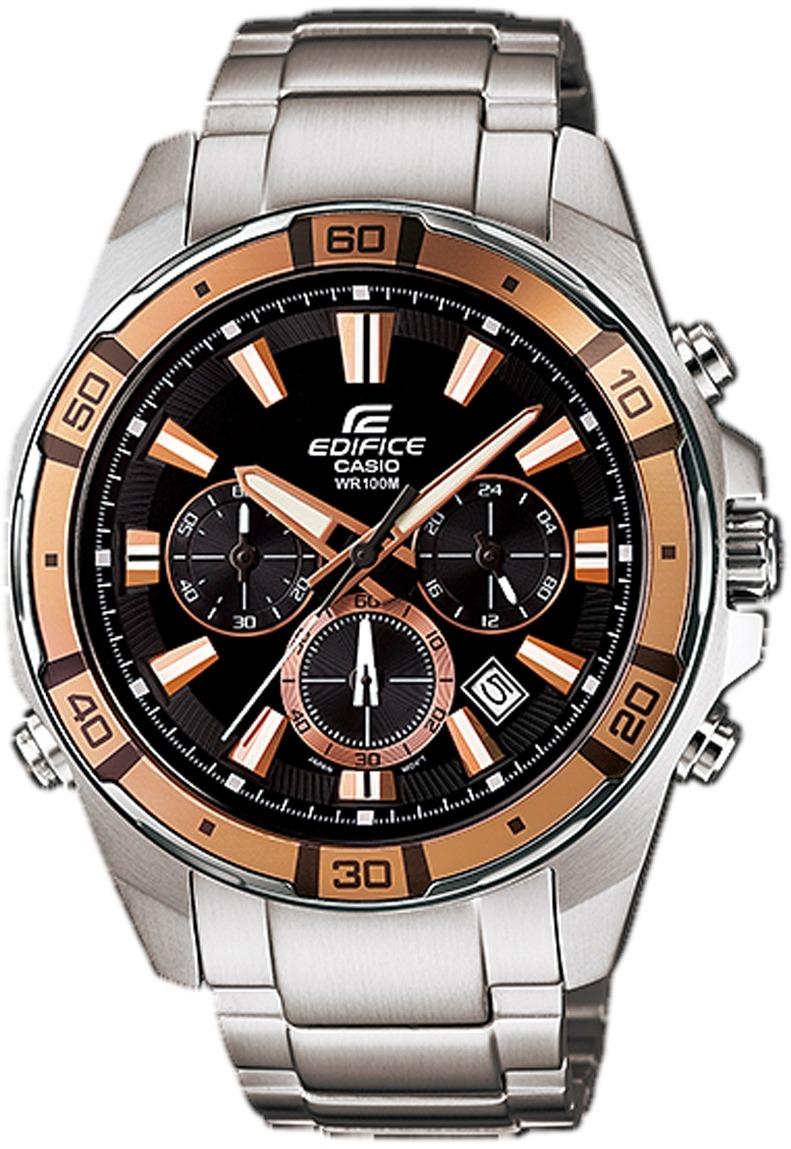 945607e8a19 relógio casio edifice cronografo classic iluminator analógic. Carregando  zoom.