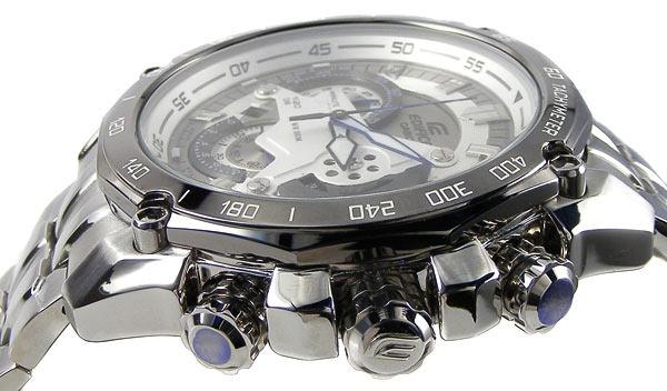 5460b49f090 Relógio Casio Edifice Cronógrafo Ef-550d-7avudf Branco - R  859
