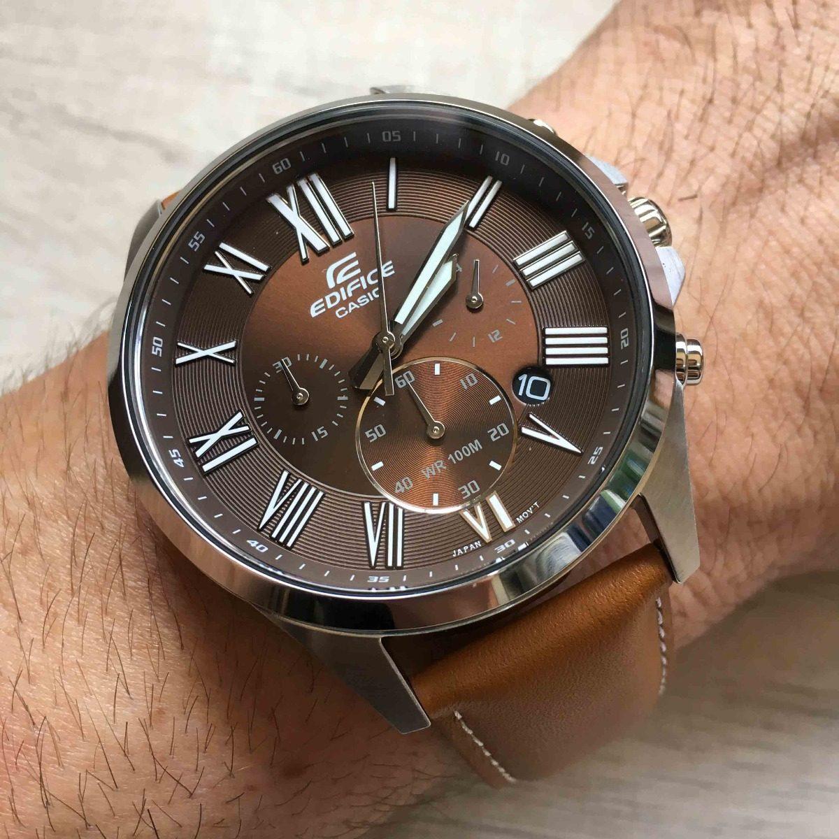 0f3bfd881c2 relogio casio edifice cronografo masculino efv-500 original. Carregando  zoom.