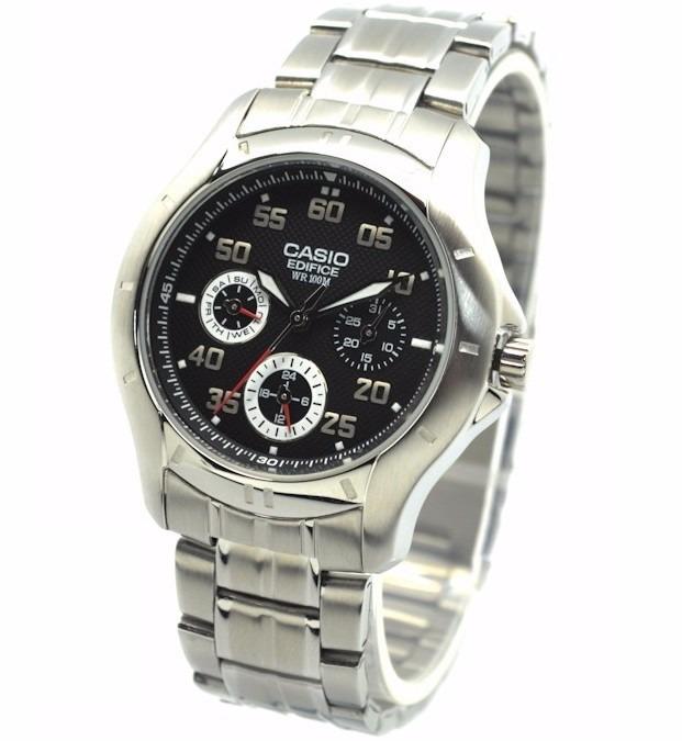 cfc92c4f65f Relógio Casio Edifice Ef-317 D Análogo Calendário Wr-100m P - R  299 ...
