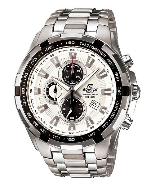 fed86718559 Relógio Casio Edifice Ef-539 Cronógrafo Wr100 Tachymeter Br - R ...