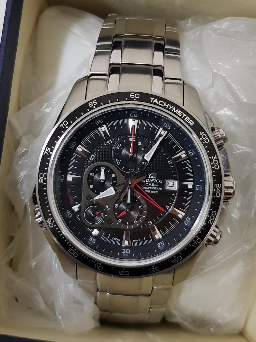 2579f66907bb Relógio Casio Edifice Ef-545d-1avdf 100% Original Com Nota - R  490 ...