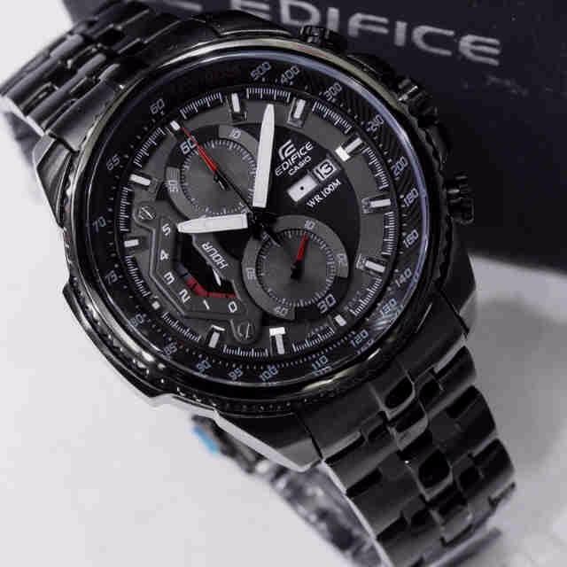 c76015b85b3 Relogio Casio Edifice Ef-558 Black Preto Promocao - R  218