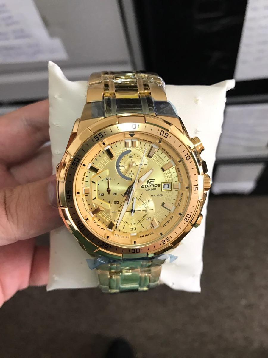 99d79b255834 relógio casio edifice ef-558d original promocional top. Carregando zoom.