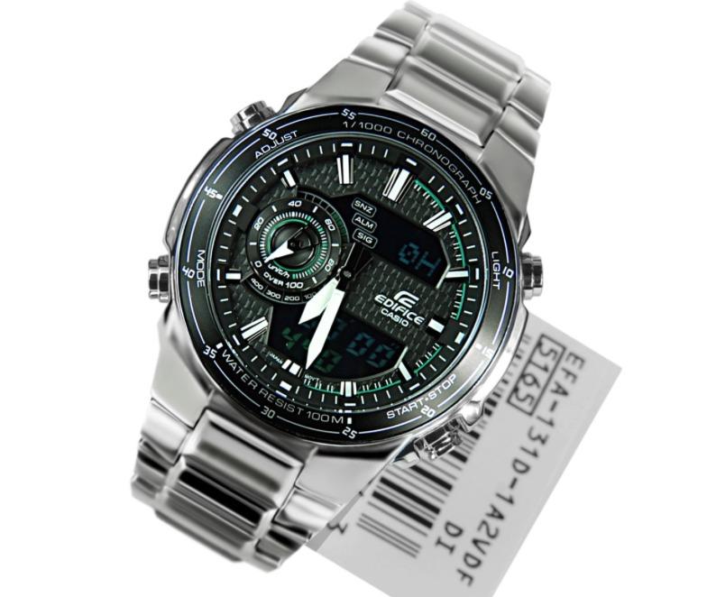 8bbb562e25d Relógio Casio Edifice Efa-131d-1a2 Efa-133d Em 12x S  Juros - R  499 ...