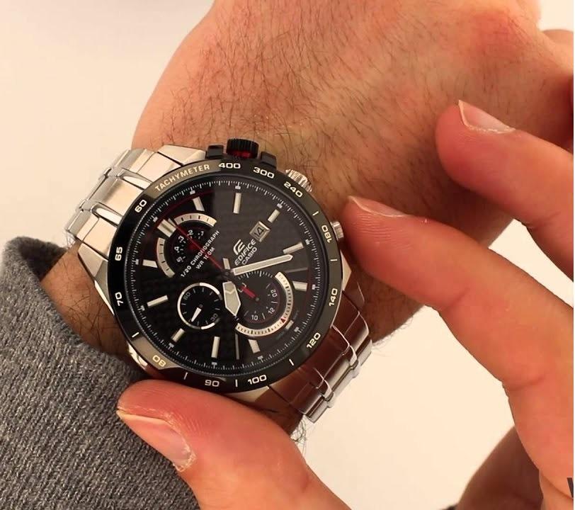 62c0e4bc4456 relógio casio edifice efr-520sp-1av 46mm. Carregando zoom.