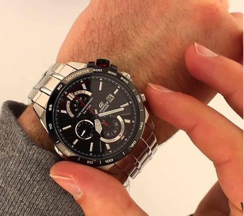relógio casio edifice efr-520sp-1av 46mm