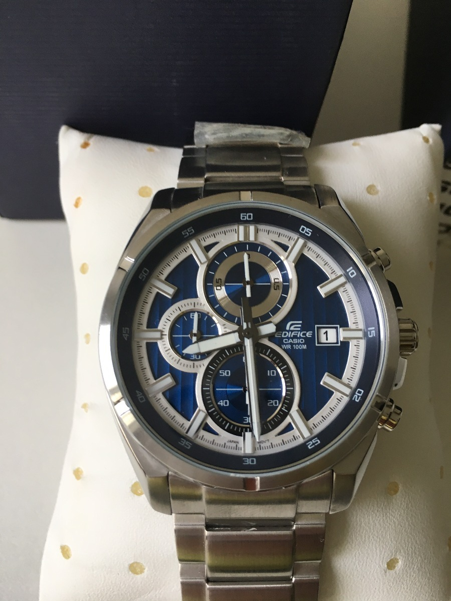 836a5009f0c0 Relógio Casio Edifice Efr-532zd-2avudf Original Leve Defeito - R ...