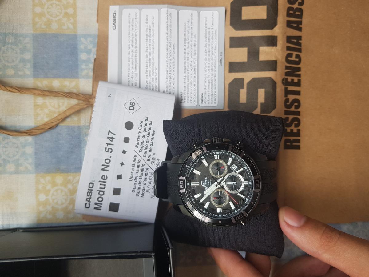 95fe7c4a1204 relógio casio edifice efr 534. Carregando zoom.