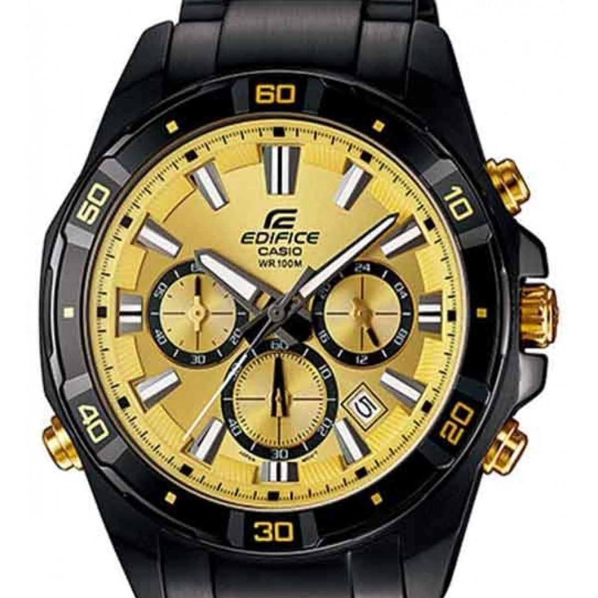 2f1fe6bba2ab relógio casio edifice efr-534zbk-9avdf original masculino. Carregando zoom.
