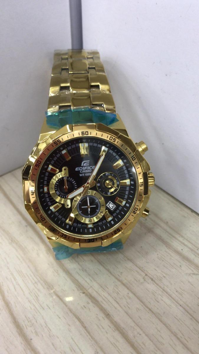 9d3396ff267 Relógio Casio Edifice Efr-539 Preto Azul Original Caixa !! - R  279 ...