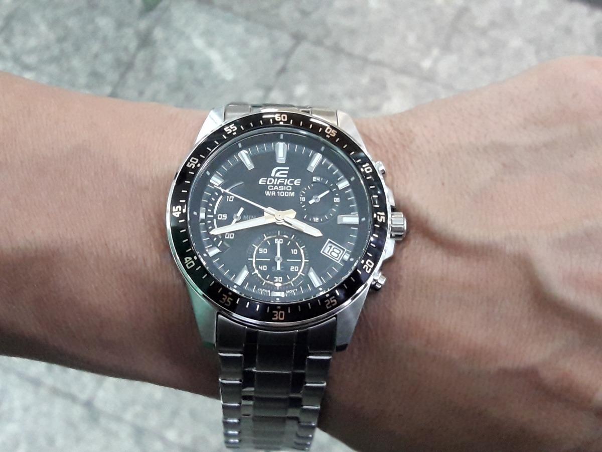 5effa04cf29 relógio casio edifice efv-540d-1a9vudf - cronógrafo - n.f.. Carregando zoom.