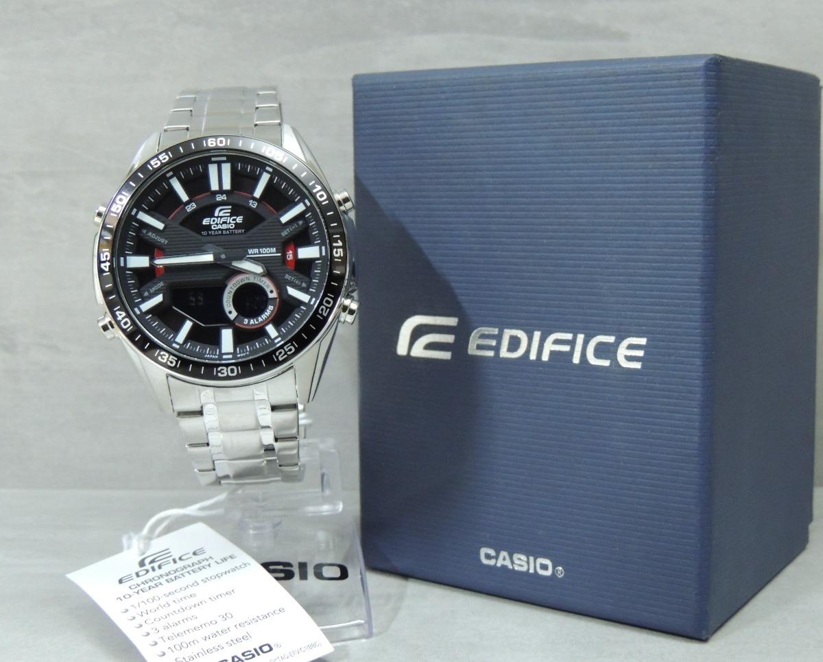 d4323f40444 relógio casio edifice efv-c100d-1avdf cronógrafo. Carregando zoom.