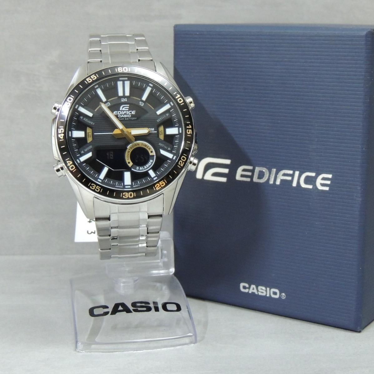 4fd539c67ba relógio casio edifice efv-c100d-1bvdf cronógrafo. Carregando zoom.