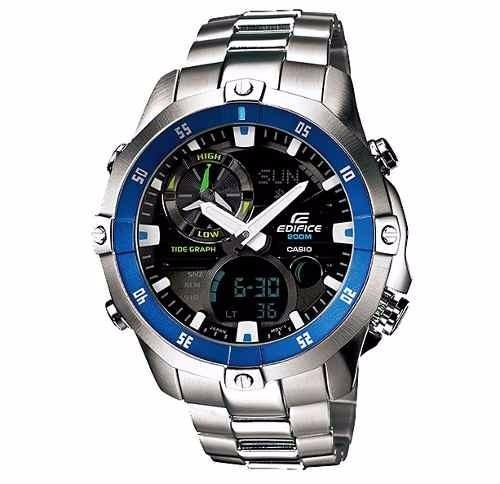 db6316ba514 Relógio Casio Edifice Ema100 Novo - R  1.250