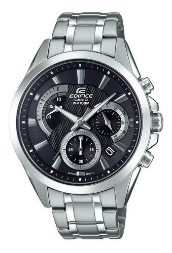 relógio casio edifice masculino prata -  efv-580d-1avudf