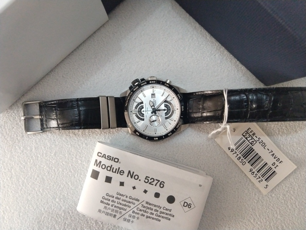 24ecde01724 relógio cásio edifice mod. no.5276. Carregando zoom.